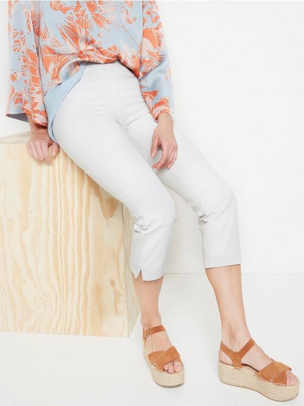 JONNA smal bukse med høyt liv