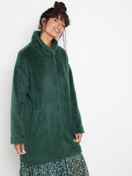 Green oversized coat Green