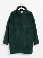 Väljä vihreä takki Vihreä