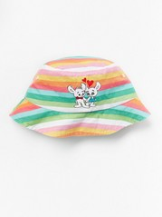 Sun Hat with Bamse Pink
