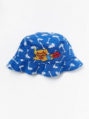Sun Hat with Bamse Blue