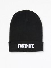 Knitted Fortnite Cap Black