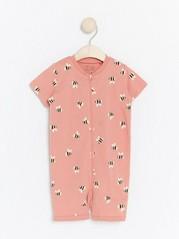Pyjamas med humler Rosa