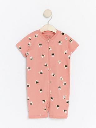 Pyjamas with Bumblebees Pink