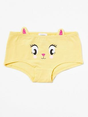 Yellow Briefs with Ears Yellow