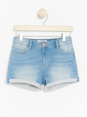 Regular Denim Shorts Blue