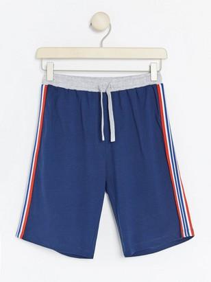 Pyjamashortsit Sininen