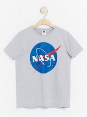 Harmaa pyjama-t-paita Harmaa