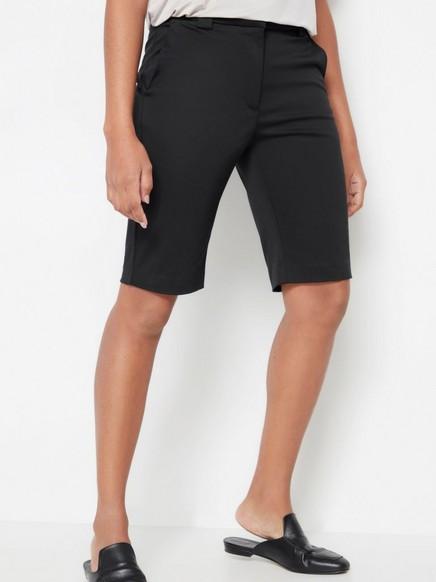 Shorts med smal passform Svart
