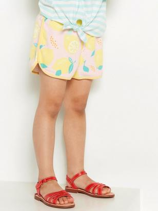 Terry Shorts Yellow