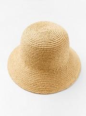Slaměný klobouk Běžová