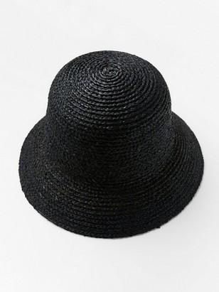 Slaměný klobouk Černá