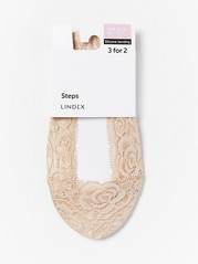 Lace steps  Beige