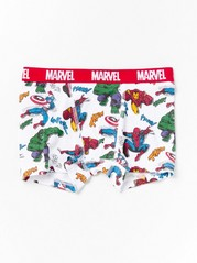 Boxer shorts with Marvel print Grey