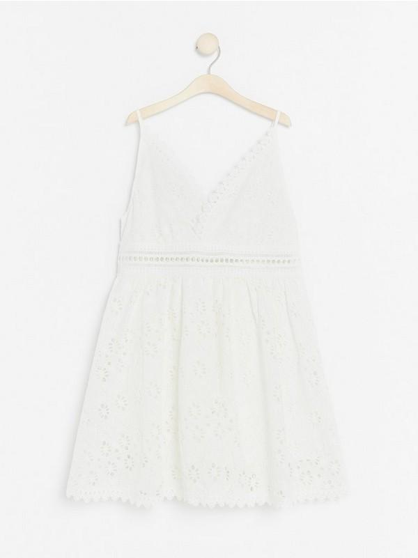 1fb9d01cdc23 Vit klänning Lindex x By Malina 799:- Välj storlek: