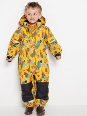Patterned overall  Yellow