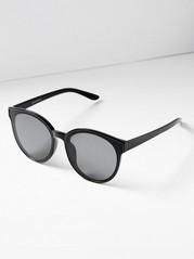ec2cac57d809 Runde solbriller Svart