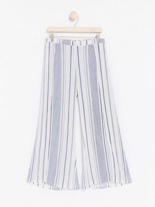 Plážové kalhoty Modrá