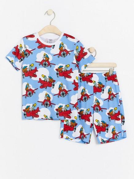 Bamse-pyjama Sininen