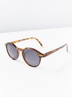Solglasögon med styrka Brun