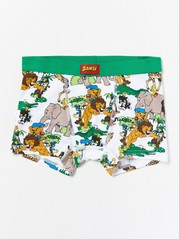 Boxer Shorts with Bamse White