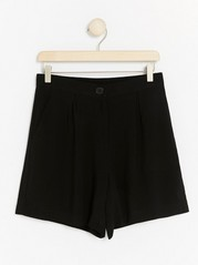 Viscose Shorts  Black