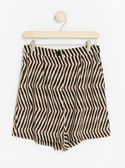 Viscose Shorts  Beige