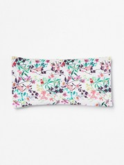 Floral Sunglass Case  White