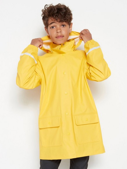 Yellow rain jacket Yellow