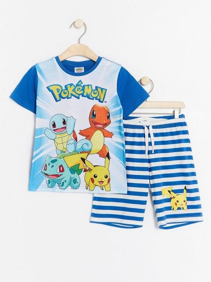 Pyjama, jossa Pokémon-painatus Sininen