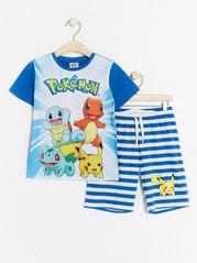 Pyjamas with Pokémon Print Blue