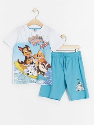 Pyjamas with Paw Patrol print Turquoise