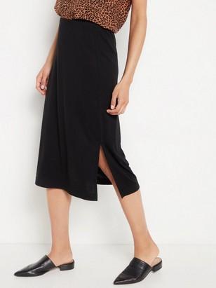 Černá sukně Černá