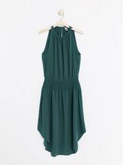 Vihreä hihaton mekko Sininen