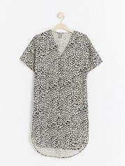 Modal blend dress  Grey