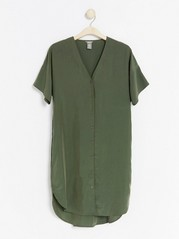 Modal blend dress  Khaki