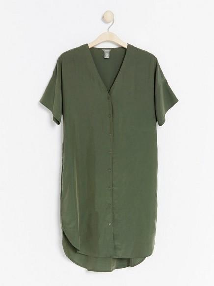 Modal blend dress  Khaki