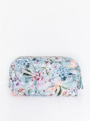 Floral toilet bag Lindex x By Malina  Blue