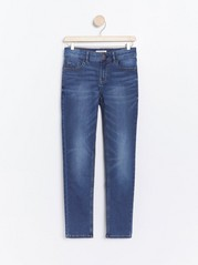 Slim fit jeans in denim jersey Blue