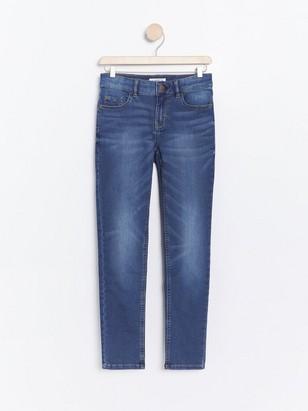 Úzké džíny Modrá
