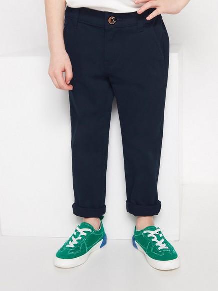 Kalhoty Chinos klasického střihu Modrá