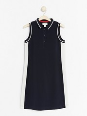 Navy blue polo dress  Blue