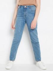 Light blue narrow fit hight waist jeans Blue