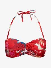 Bandeau-bikiniyläosa Punainen