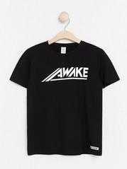 T-shirt with Print Black