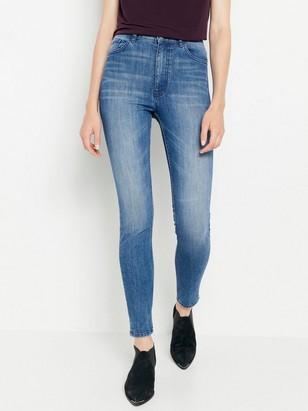 e3f98258 Blå, smal VERA-jeans med høy midje Blå