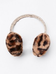 Fake fur ear muffs Brown