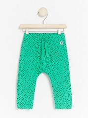 Green Trousers with Dots Green