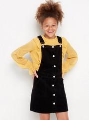 Černé šaty slaclem Černá