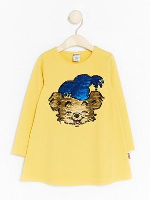 Žlutá tunika smedvídkem Bamsem Žlutá